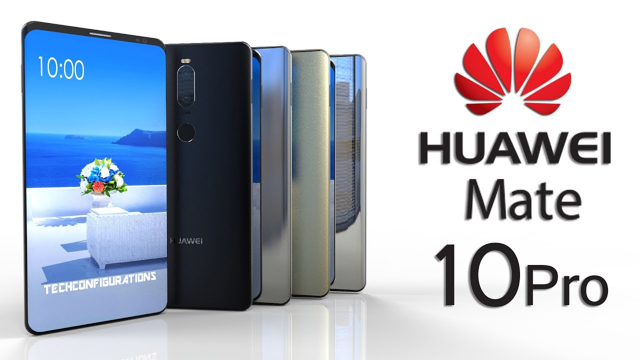 huawei mate 10 pro introduction with 6inch amoled bezel less display 18 9 aspect ratio. Black Bedroom Furniture Sets. Home Design Ideas
