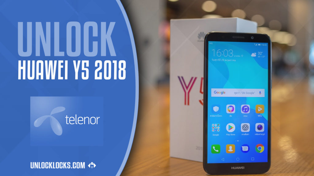 How to Unlock Huawei Y5 2018 (Telenor Hungary) by Unlock