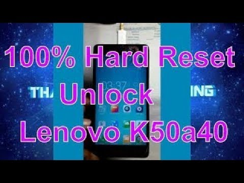 How To Hard Reset Lenovo K3 Note In Chinese — TTCT